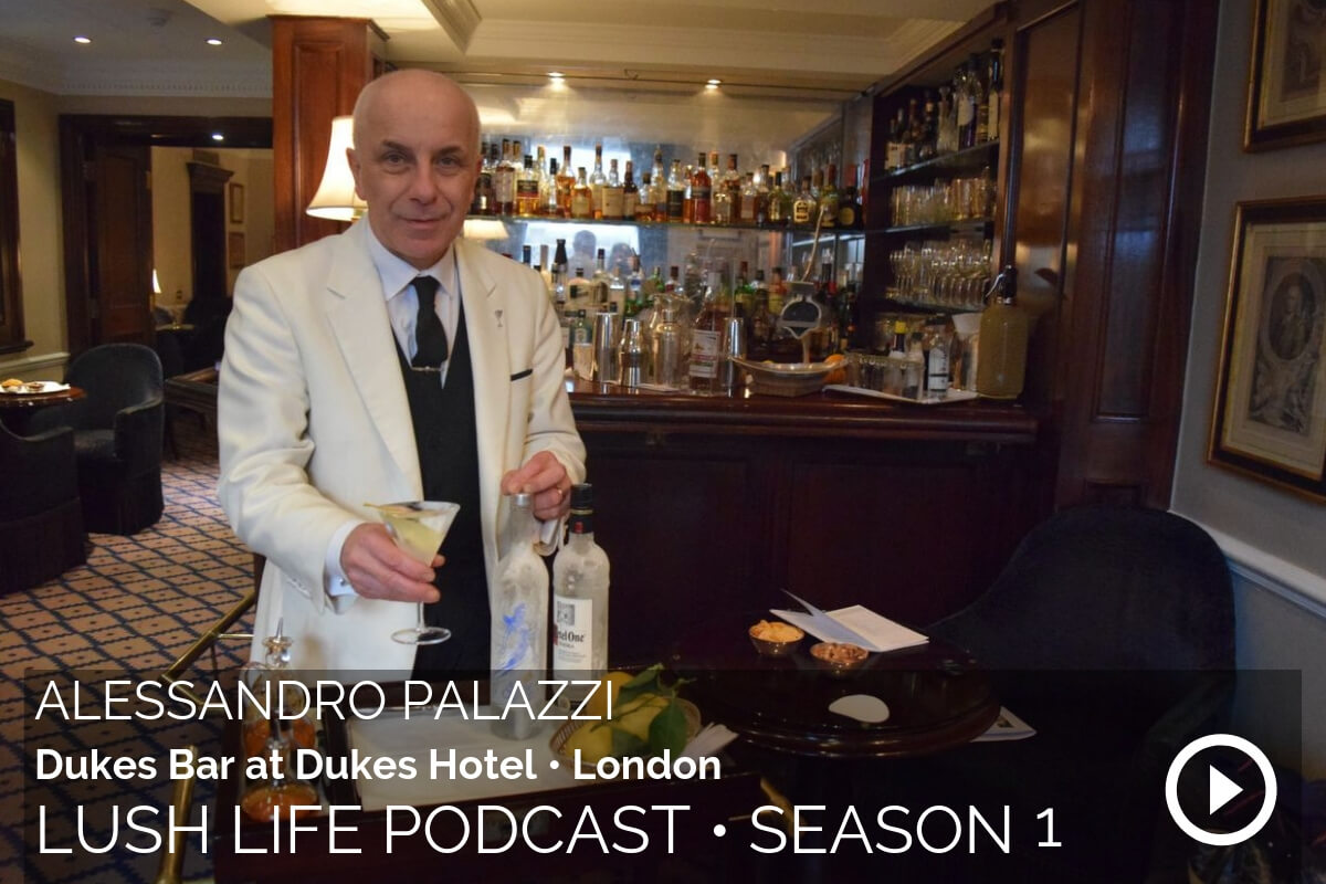 Alessandro Palazzi, Head Bartender at Dukes Bar in the Dukes Hotel, London
