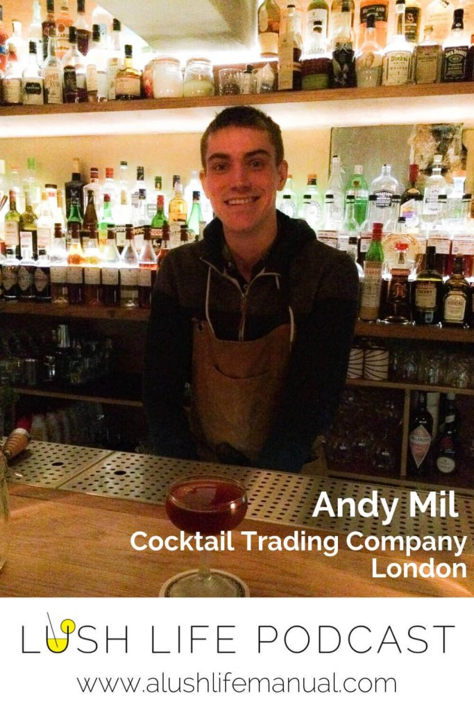 Andy Mil, Cocktail Trading Company, London - Pinterest