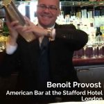 Benoit Provost, The American Bar at the Stafford Hotel, London