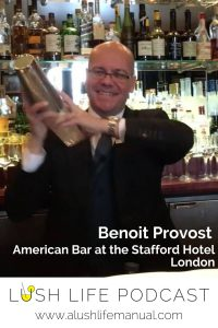 Benoit Provost, The American Bar at the Stafford Hotel, London - Pinterest