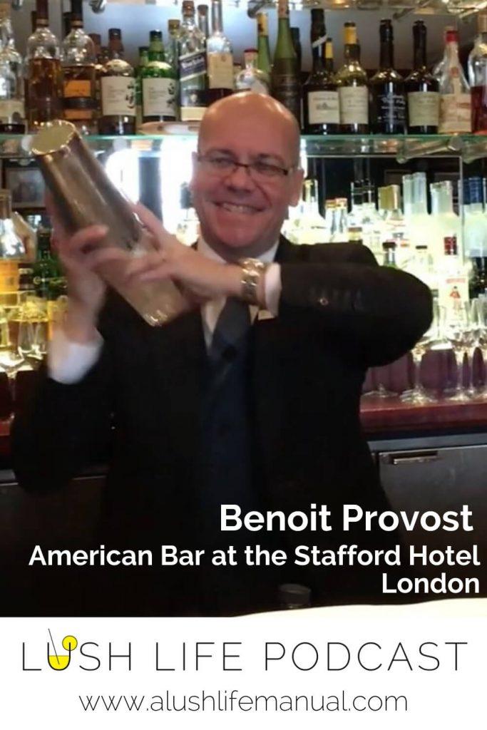 Benoit Provost, The American Bar at the Stafford Hotel, London - Pinterest