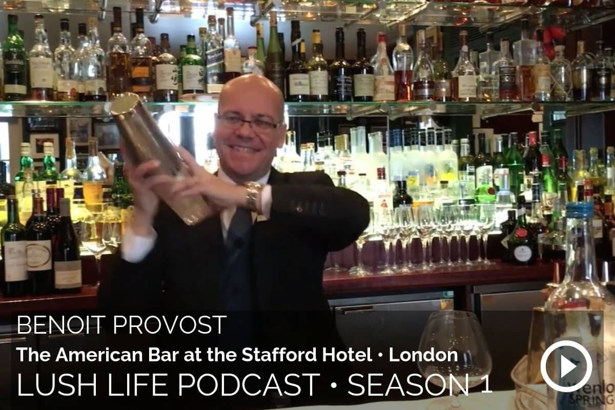 Benoit Provost, Head Bartender of the American Bar at The Stafford Hotel, London