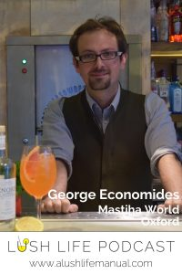 George Economides, Mastiha World, Oxford - Pinterest