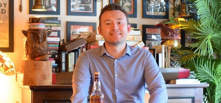 Chris Hoban, R&B Distillers, Edinburgh