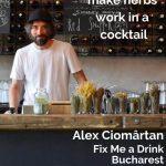 Alex Ciomârtan, Fix Me a Drink, Bucharest - Pinterest