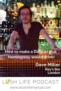 Dave Miller, Ray's Bar, London - Pinterest