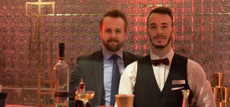 Jason Vickers & Pablo Moreno Garcia – Waldorf Astoria, London