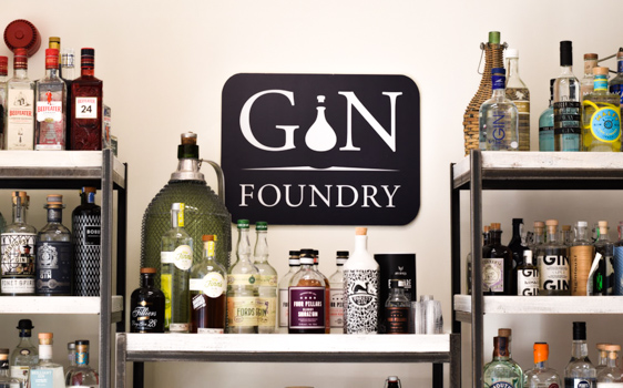 Gin Foundry, London