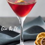 Gin & It, Gin Foundry, London - Cocktail Recipe