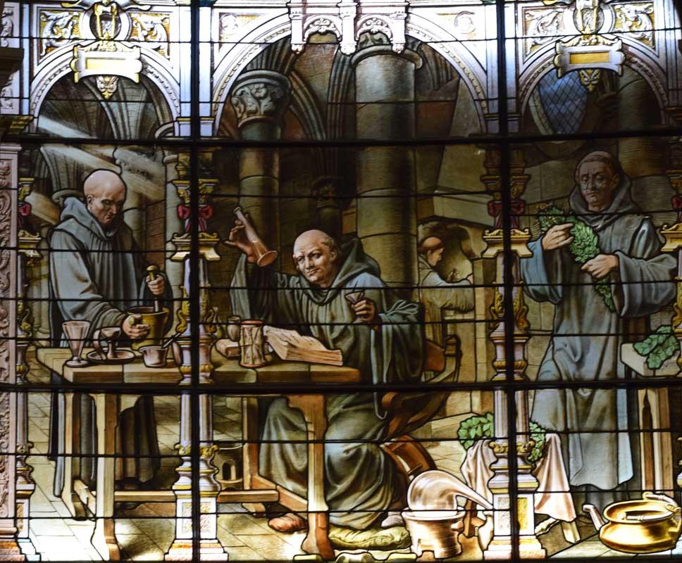 Dom Bernardo Vincelli, Palais Benedictine, Fecamp, France