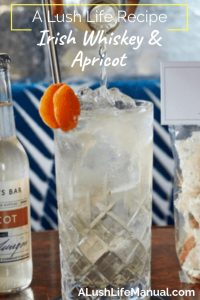 Irish Whiskey & Apricot by Gregory Buda - Cocktail recipe