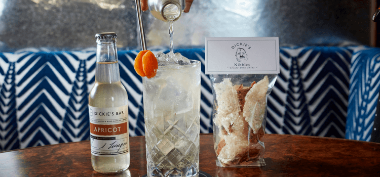 Irish Whiskey & Apricot Highball by Dickie's Bar, London – Cocktail recipe