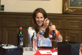 Me at Masterclass, Palais Benedictine, Fecamp, France