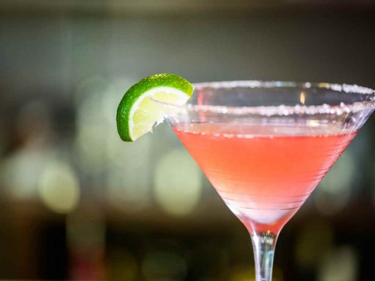 The Cosmopolitan - Cocktail Recipe