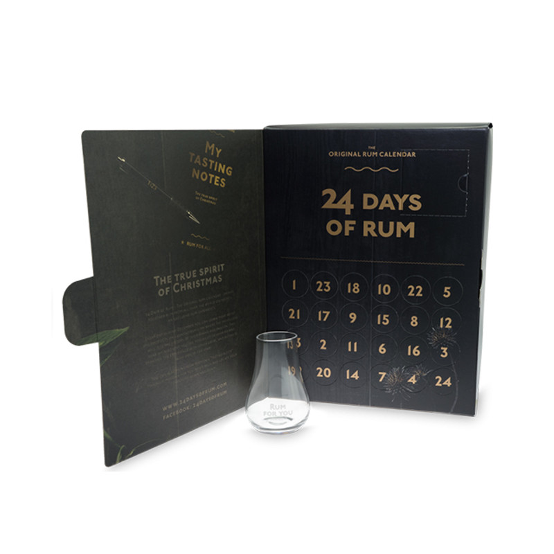 24-days-of-rum advent calendar