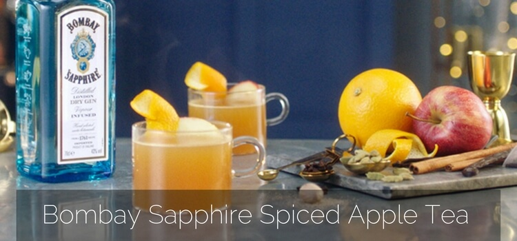 How to Make the Bombay Sapphire Spiced Apple Tea by Sam Carter – Cocktail Recipe