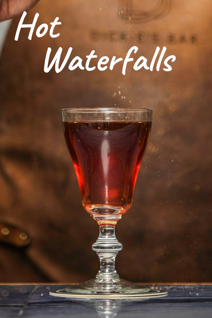 Hot Waterfalls, Dickie's Bar, London