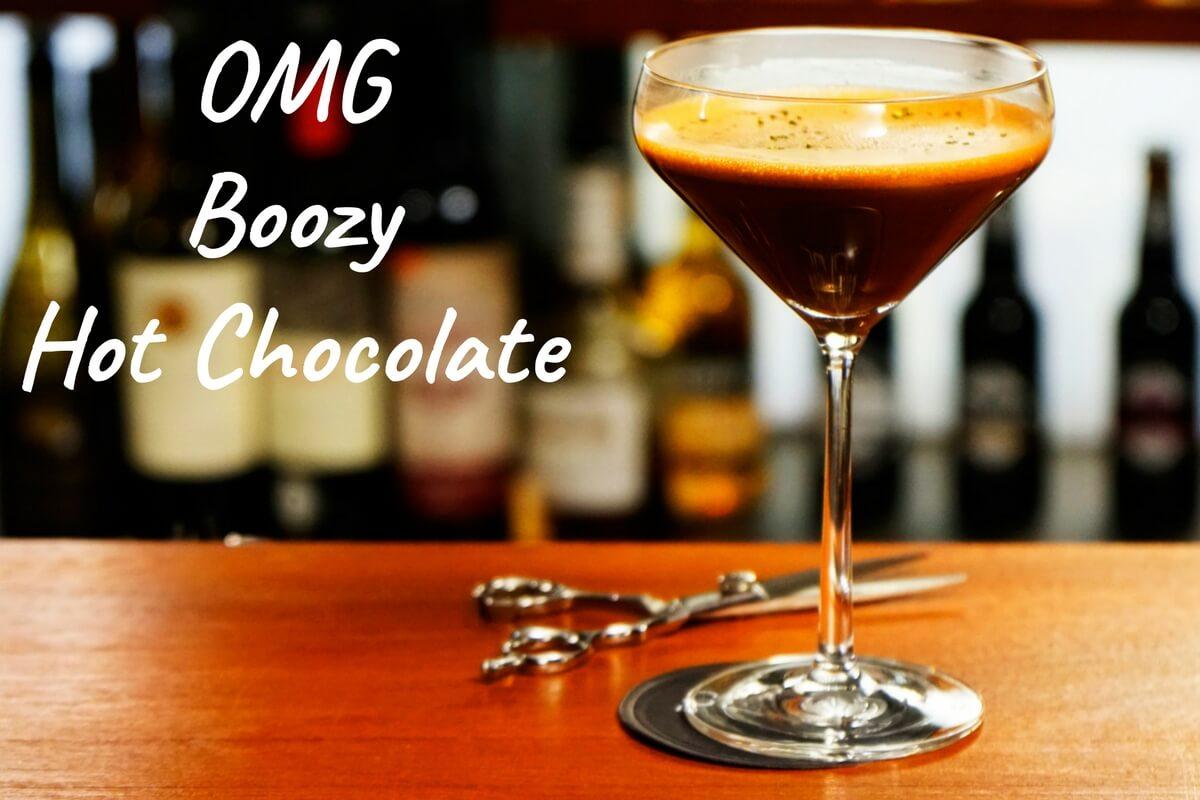 OMG Boozy Hot Chocolate, Blade, London (1)