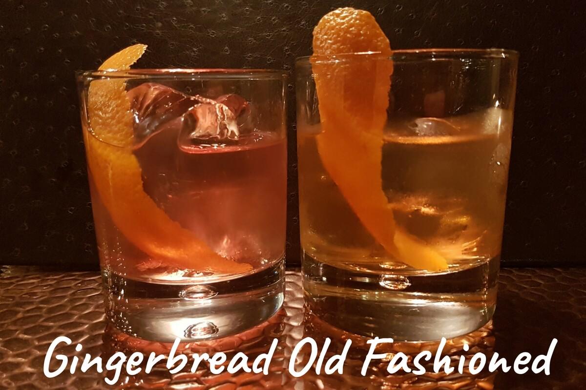 R&B Gingerbread Old Fashioned