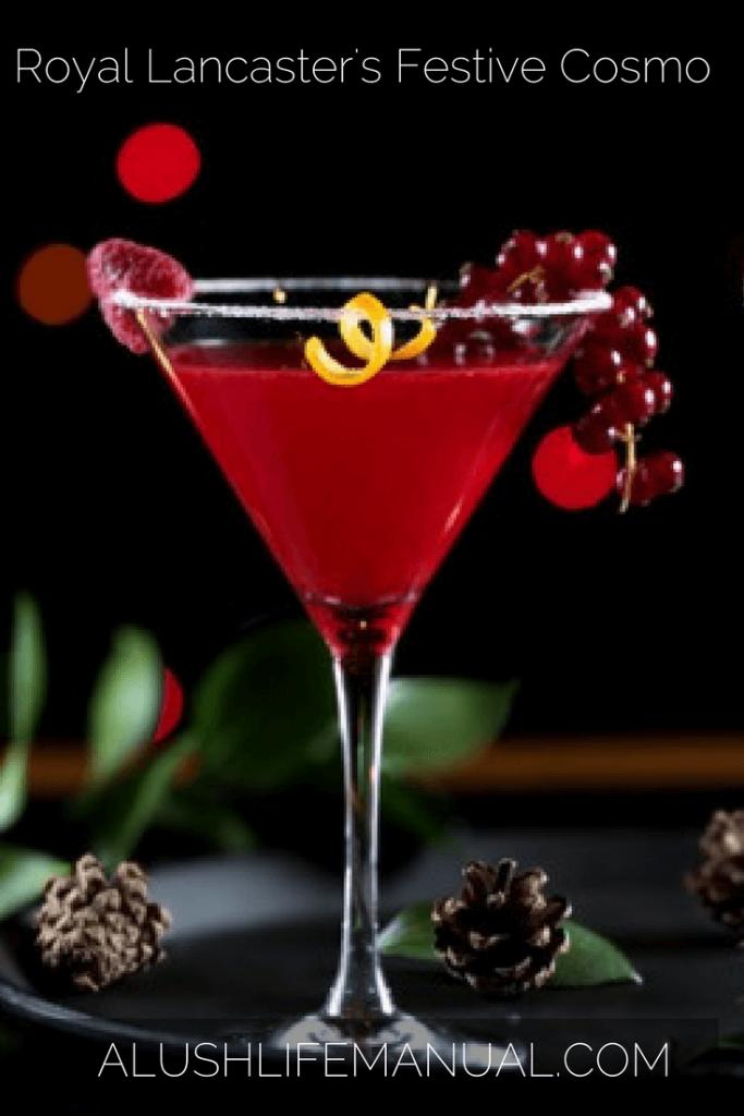 Royal Lancaster's Festive Cosmopolitan Recipe - Pinterest (1)
