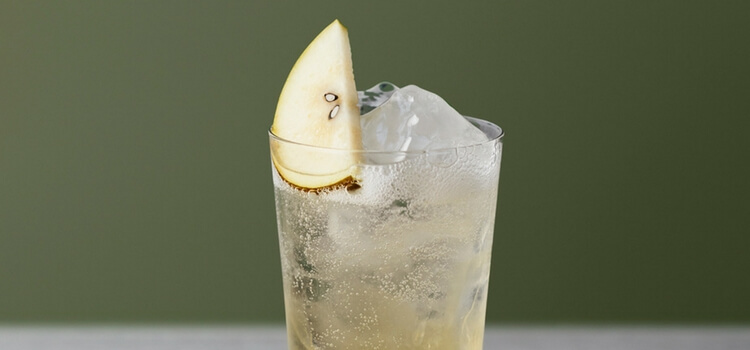A twist on the Tom Collins and Alcohol-free