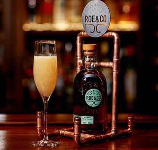 Roe & Co Whiskey - Roe & Rhubarb Fizz