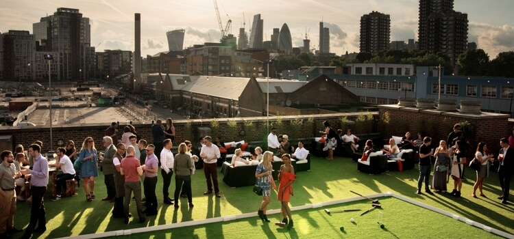 Summer is almost here – Skylight opens at Tobacco Dock