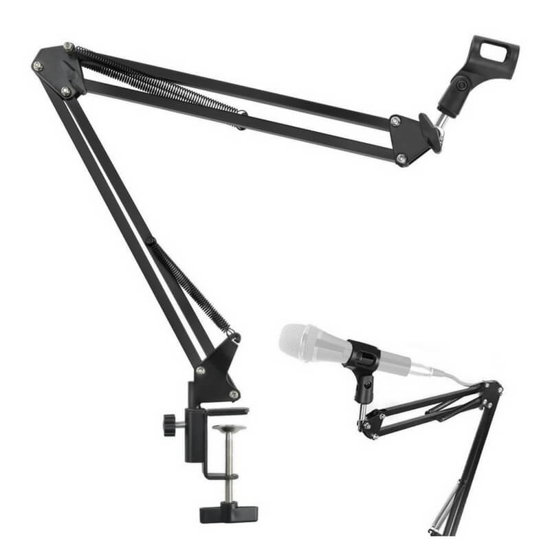IRICH Professional Adjustable Microphone Arm Stand