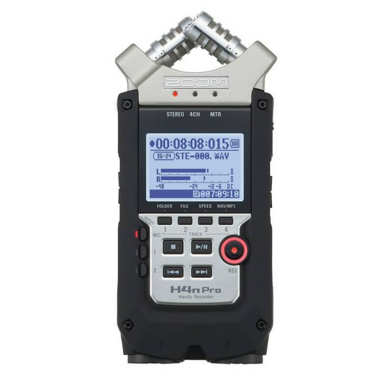 Zoom H4n Pro Microphone
