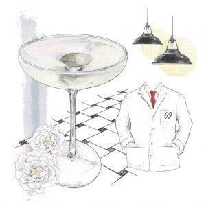 Caper Leaf Martini, 69 Colebrook Row