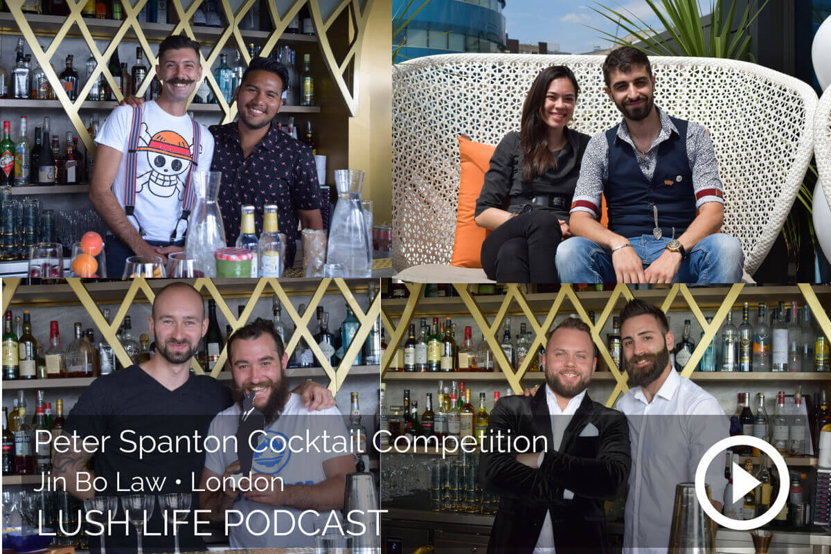 The Inaugural Peter Spanton Cocktail Competition at Jin Bo Law, London