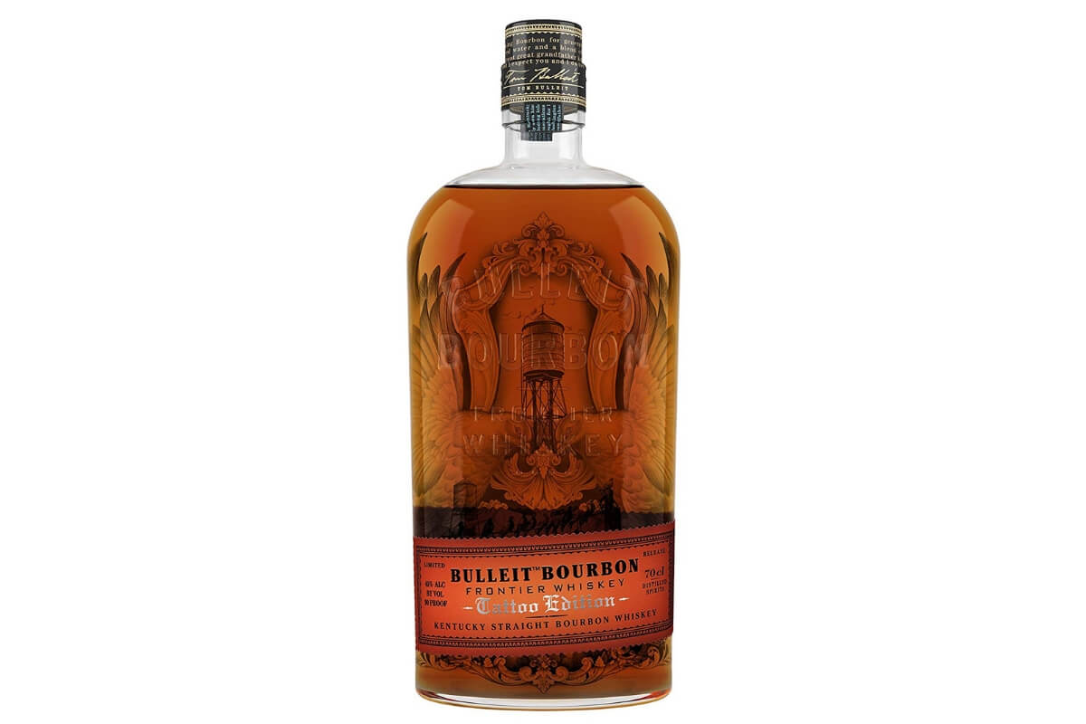 Bulleit Frontier Whiskey launch a limited release Tattoo Edition bottle