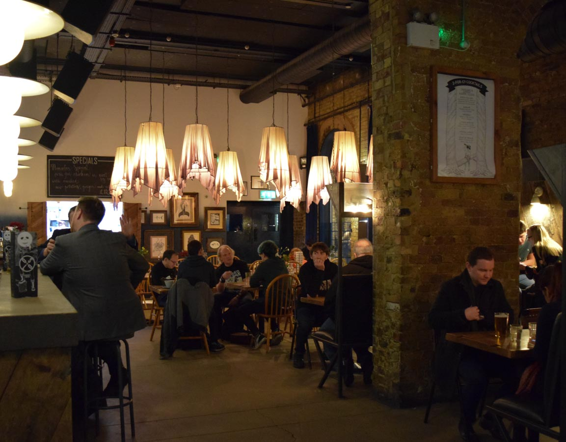 Oslo – the Scandi bar in Hackney Central, London