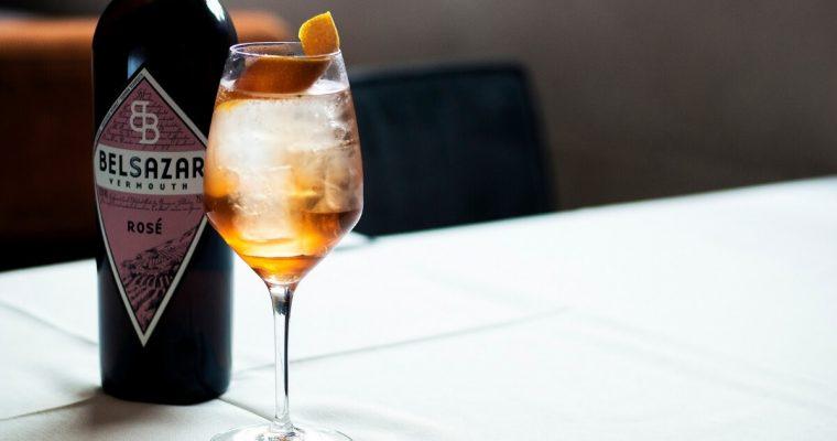 How to Make the Belsazar Vermouth Winter Spritz