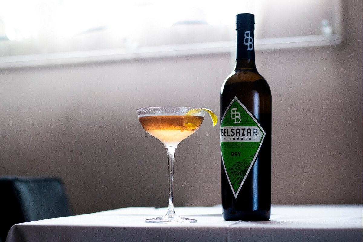 Wet-Wet-Wet Martini by Belsazar Vermouth
