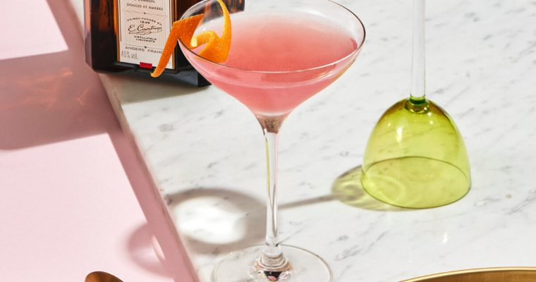 Cointreau Cosmo – A Valentine's Day cocktail recipe