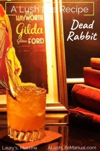 Dead Rabbit, Laury's, Morzine - Cocktail Recipe - Pinterest