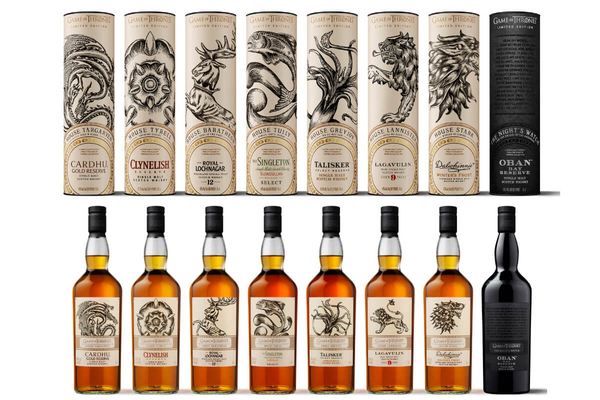 Limited edition Game of Thrones®-inspired single malt whisky collection available now!