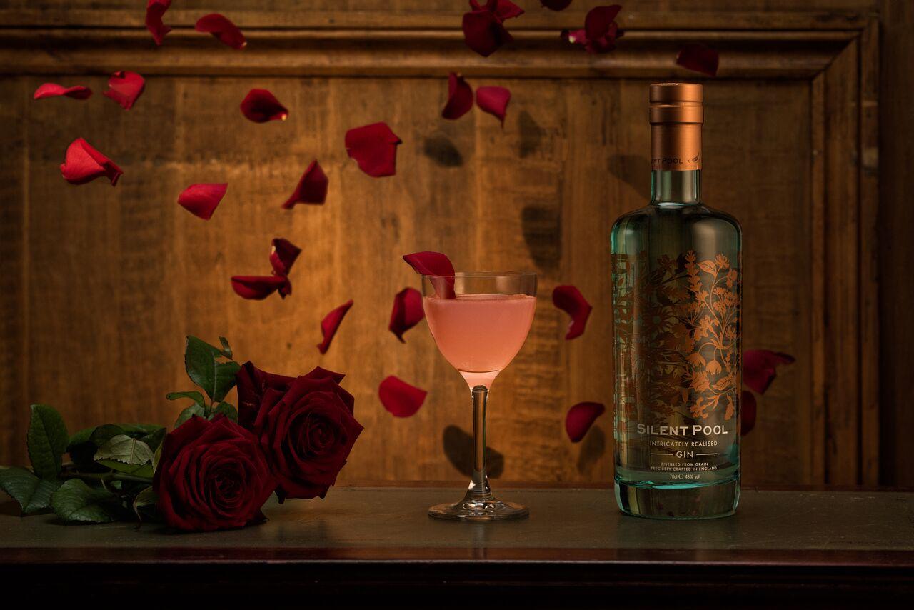 A delicious, easy Silent Pool cocktail recipe, Rosa's Ruin.