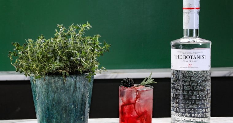 The Botanist Bramble – Valentine's Day Cocktail Recipe