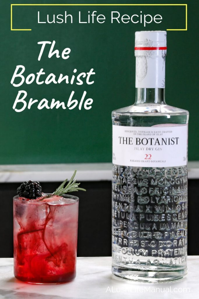 The Botanist Bramble, Valentine's Day recipe - pinterest