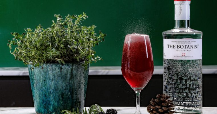 The Botanist Foraged Fizz – Valentine's Day Cocktail Recipe