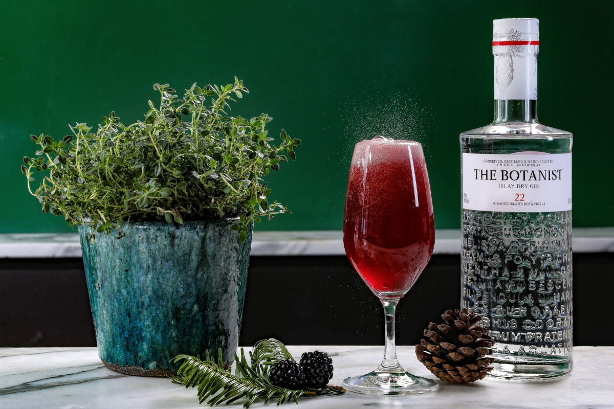 Try making this easy gin cocktail for Valentine's Day