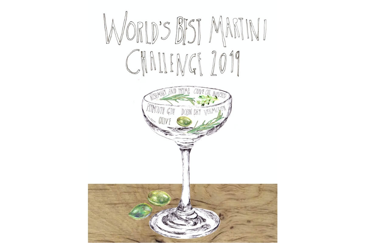 World's Best Martini Challenge Final coming up in London!