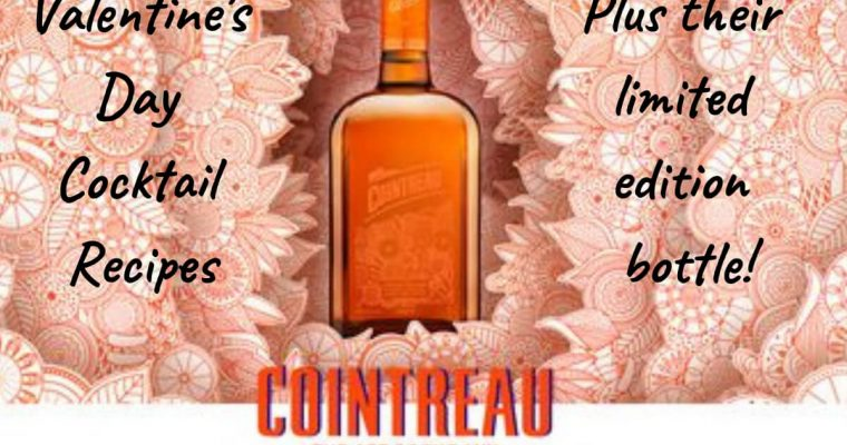 How to Make Cointreau Valentine's Day Cocktail Recipes
