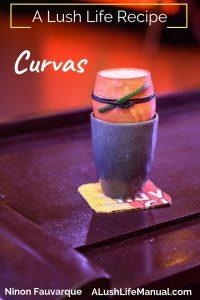 Curvas, Ninon Fauvarque, Annecy - Cocktail Recipe - Pinterest