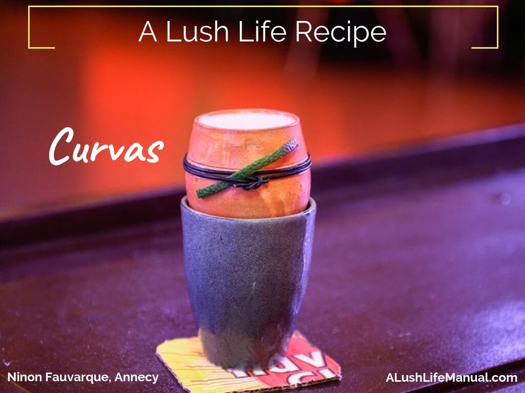 Curvas by Ninon Fauvarque, La Queue du Coq – Cocktail Recipe