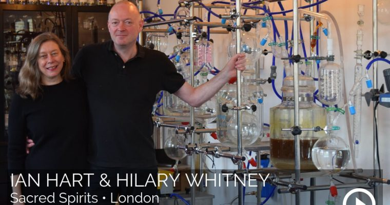 How to make your own gin with Ian Hart & Hilary Whitney of Sacred Spirits