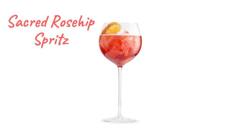 Sacred Rosehip Spritz by Sacred Spirits – Cocktail Recipe