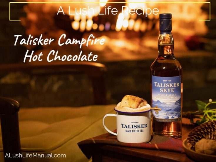 Talisker Campfire Hot Chocolate - Cocktail Recipe